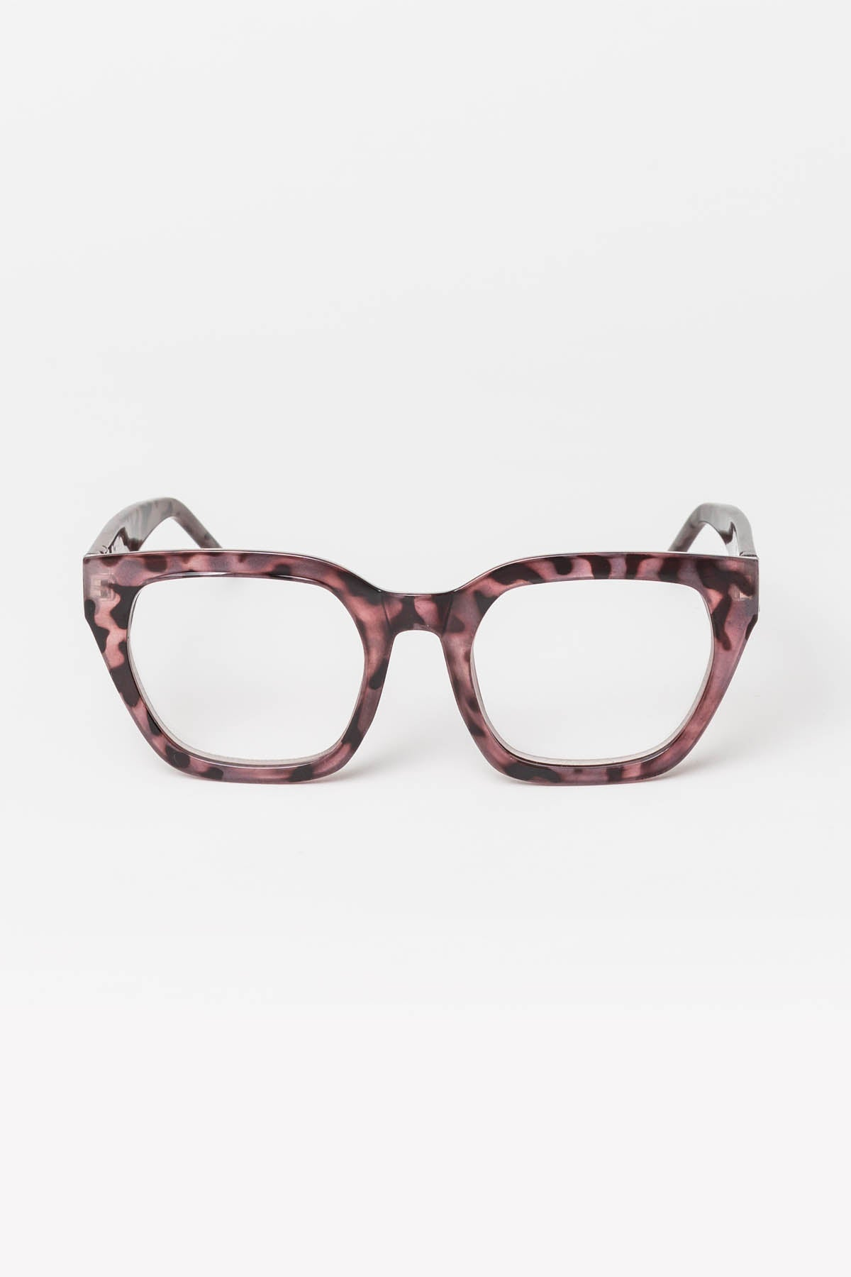 Ava Pink Tortoiseshell Reading Glasses