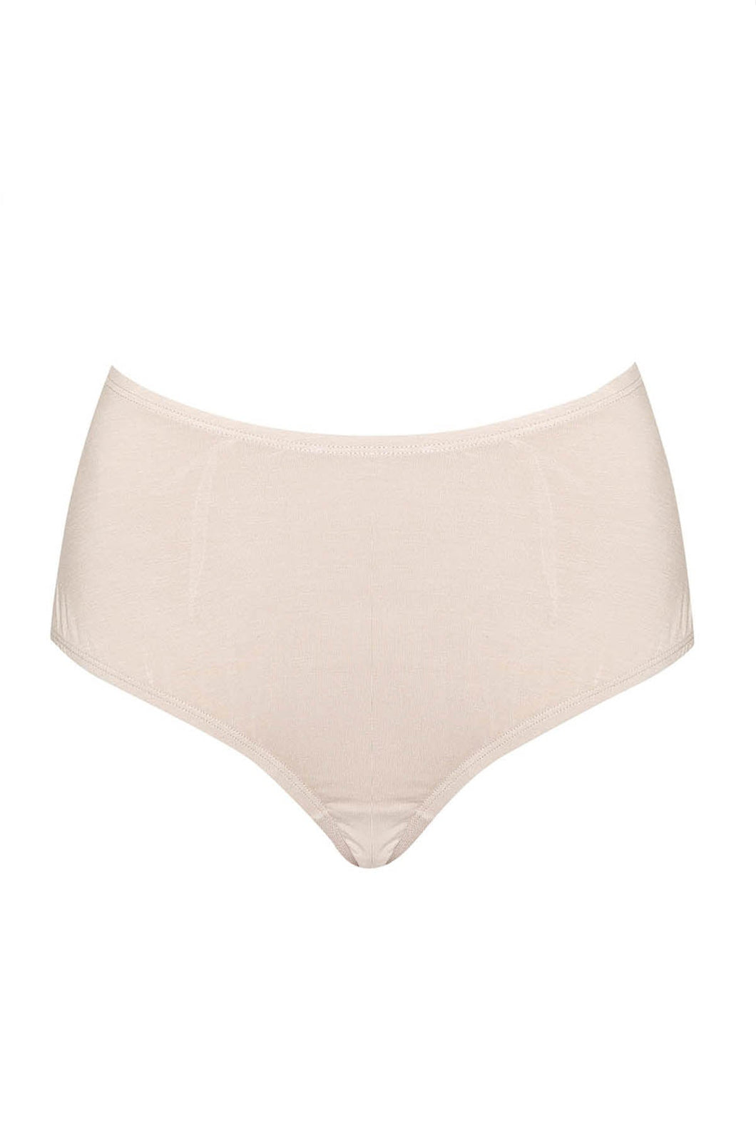 Beige Bamboo Full Brief Underwear