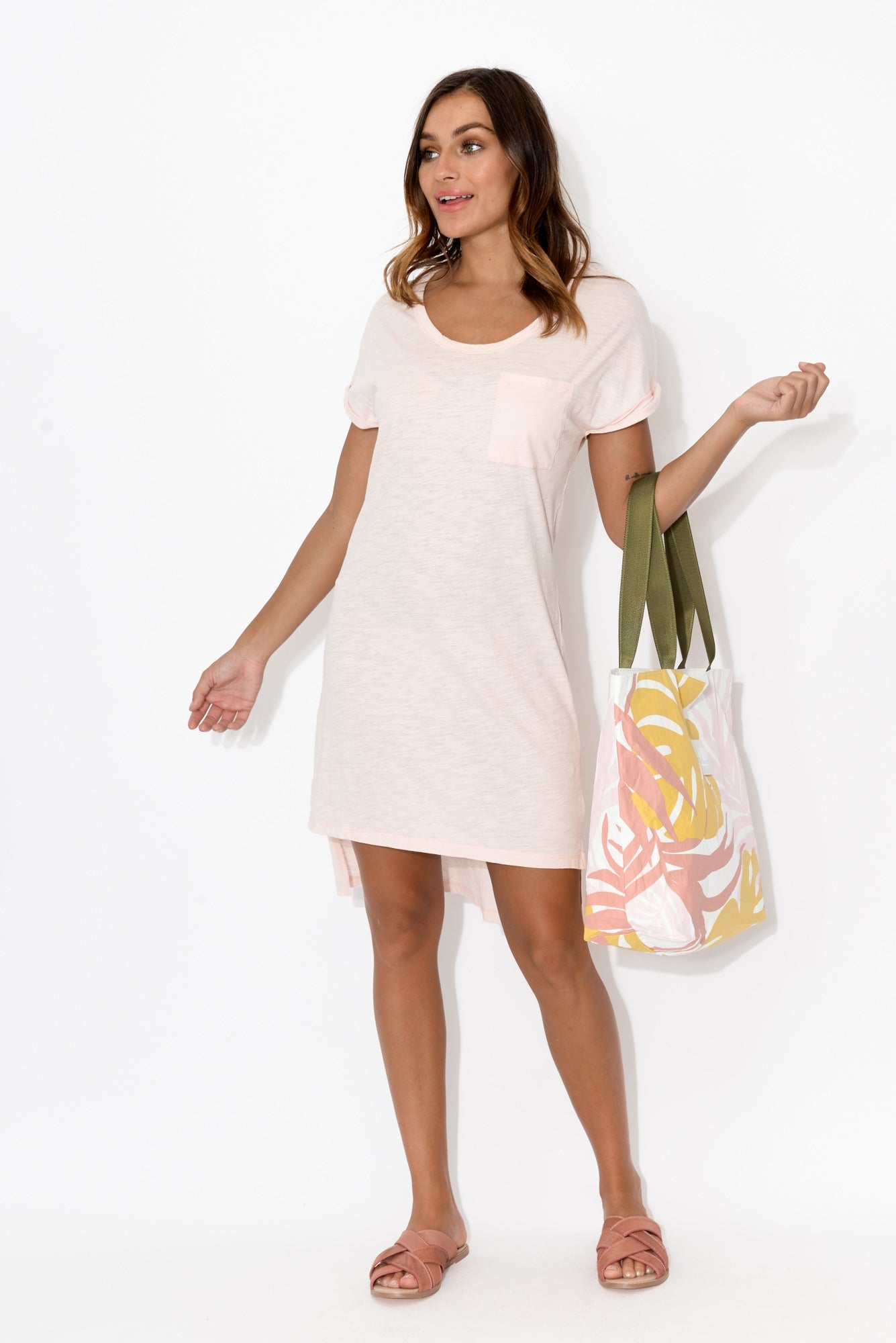 Berlin Blush Tunic Cotton Dress