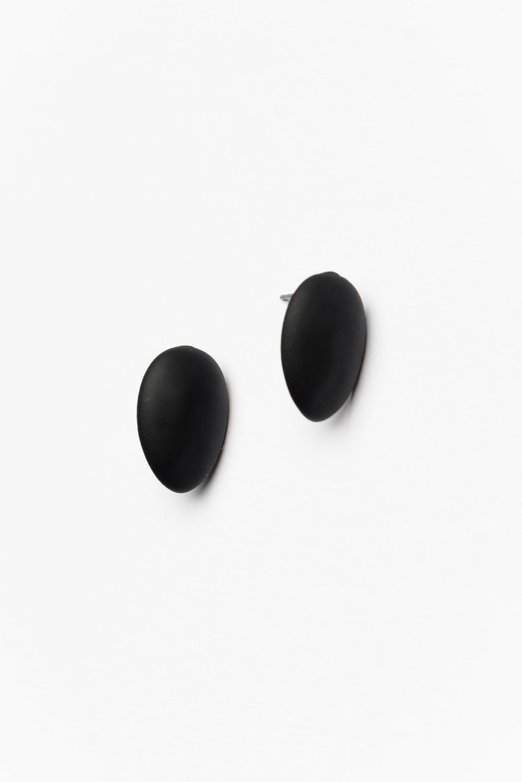 Black Alicia Moulded Studs