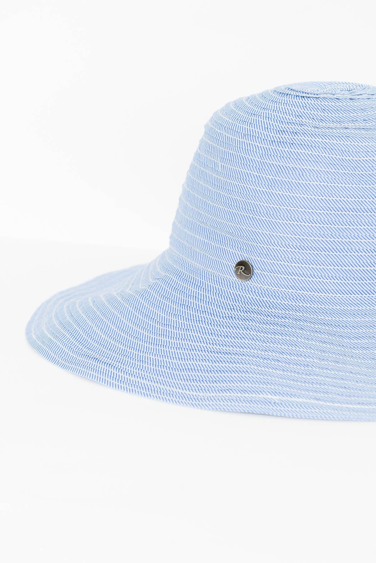 Blue Stripe Sun Hat