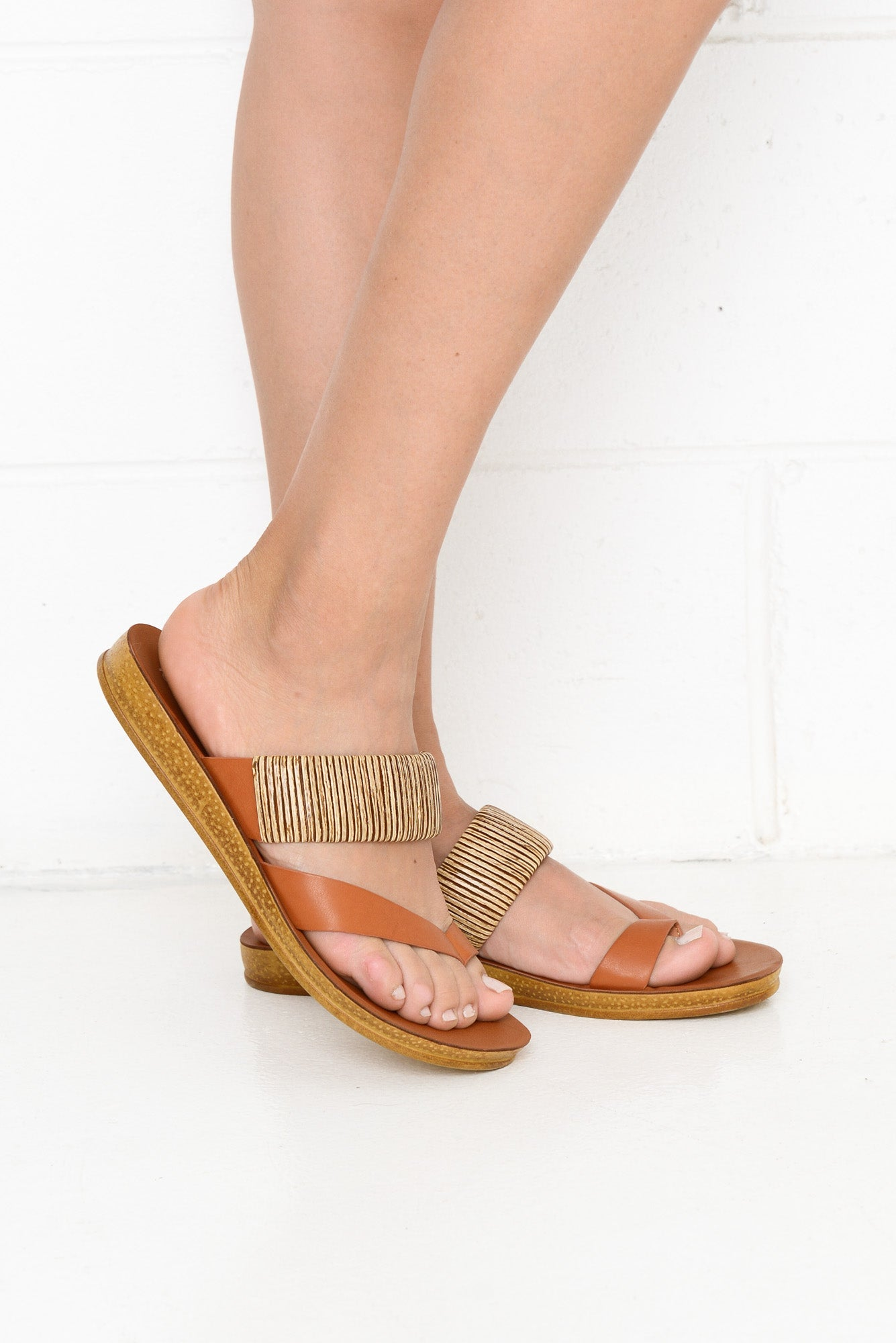 Brit Tan Sandal