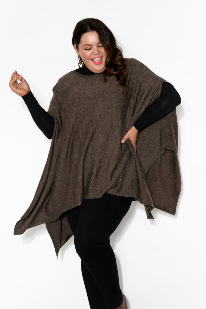 Cassidy Brown Poncho