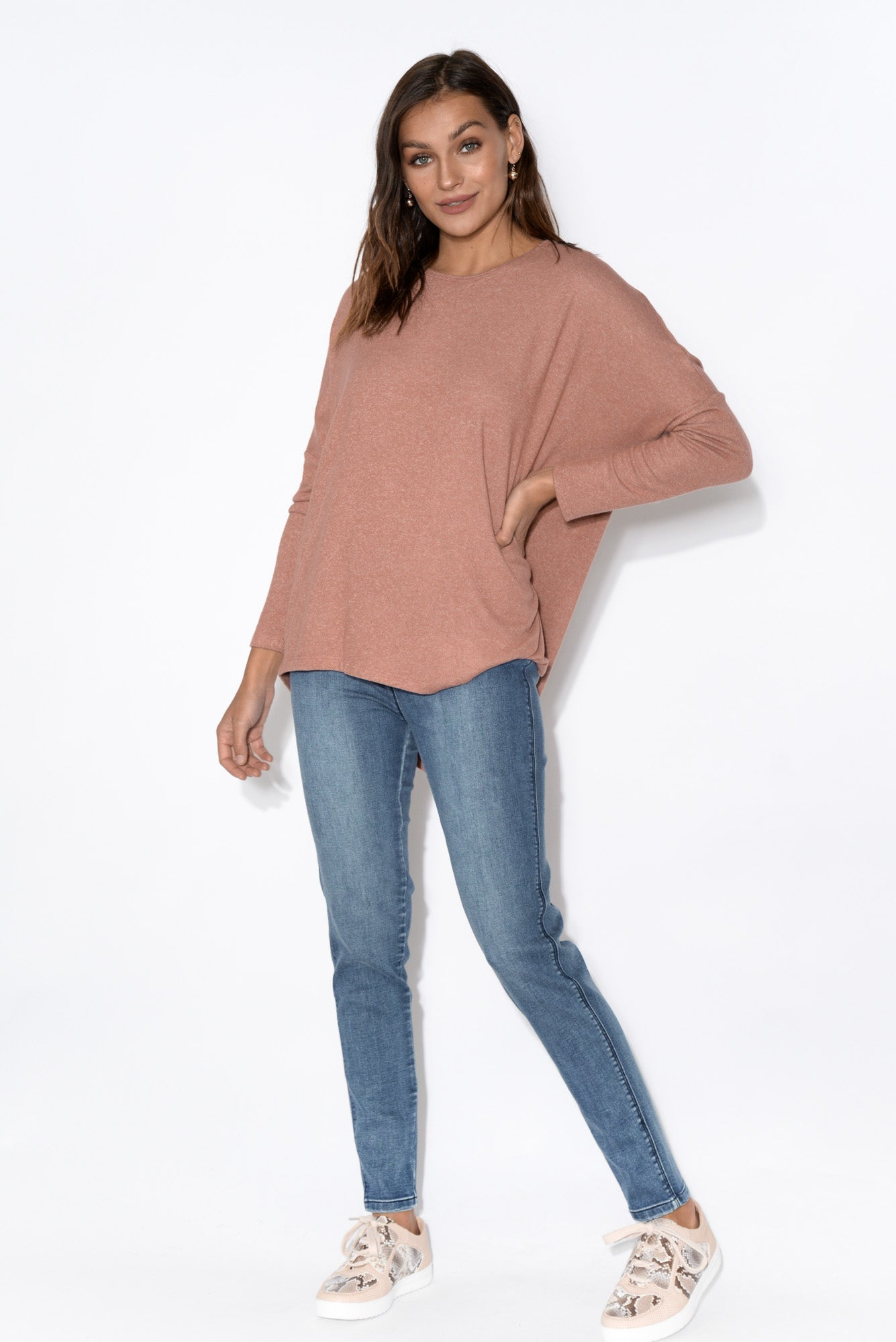 Darcy Dusty Rose Top