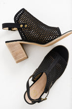 Elca Black Honeycomb Heel