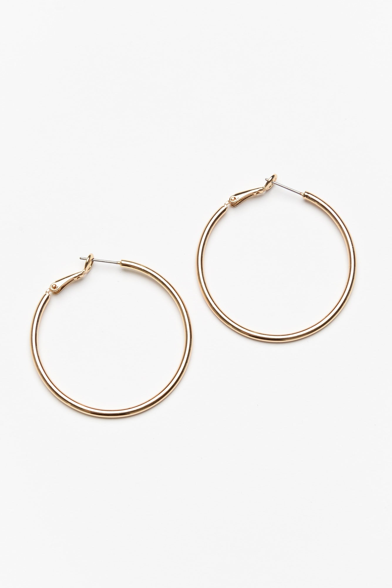 Florence Large Gold Hoop Earring