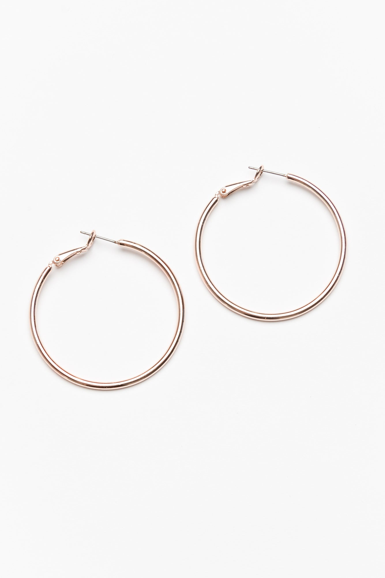 Florence Large Rose Gold Hoop Earring