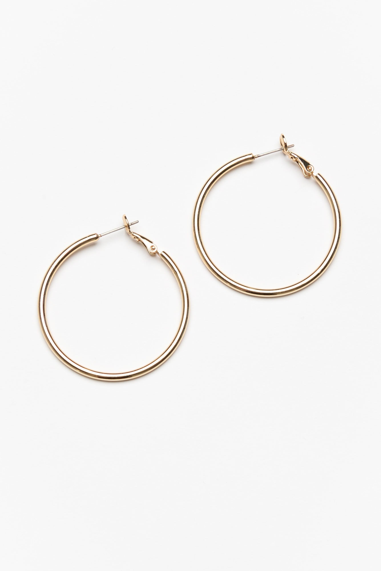 Florence Medium Gold Hoop Earring