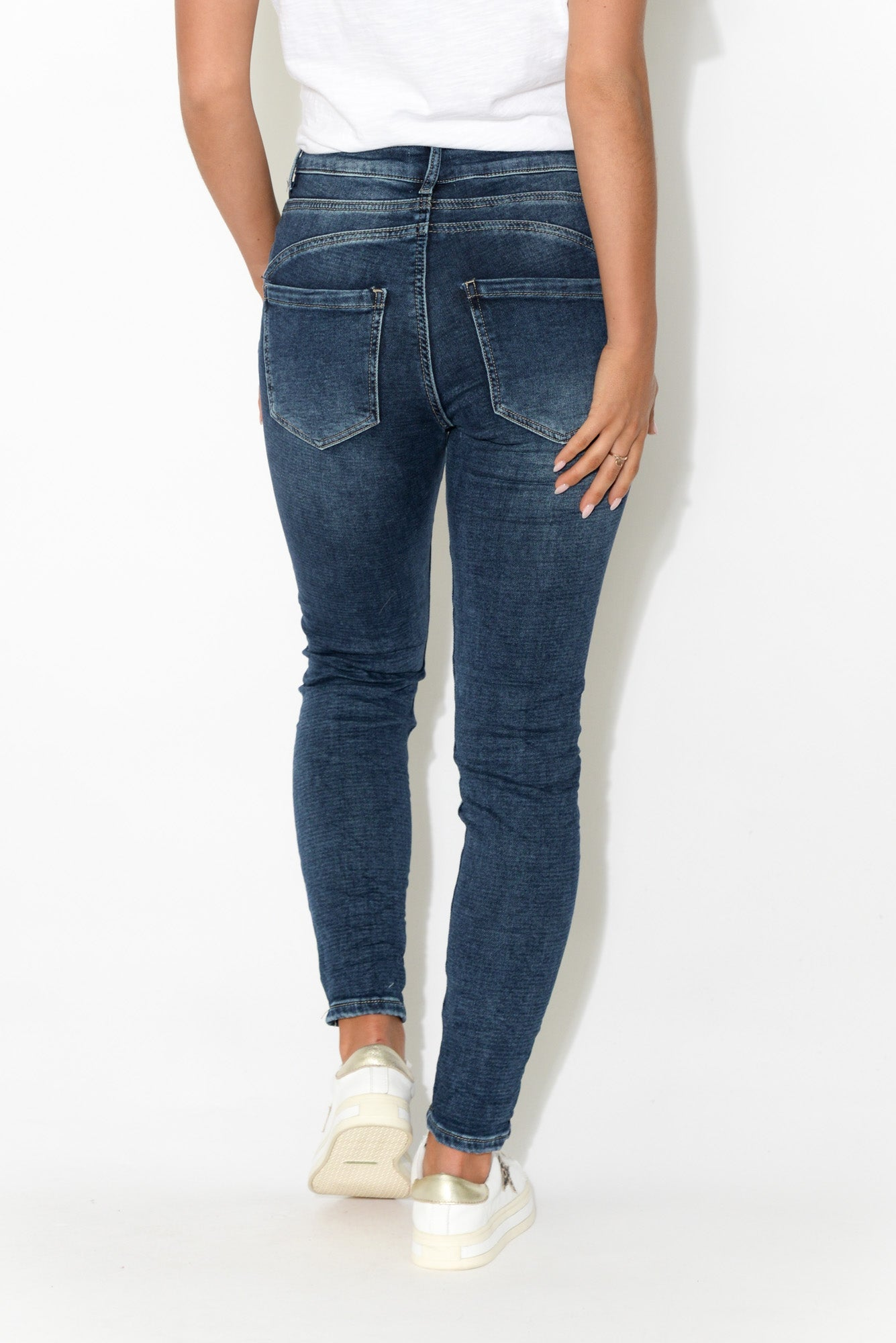 Francesca Dark Denim Stretch Jean