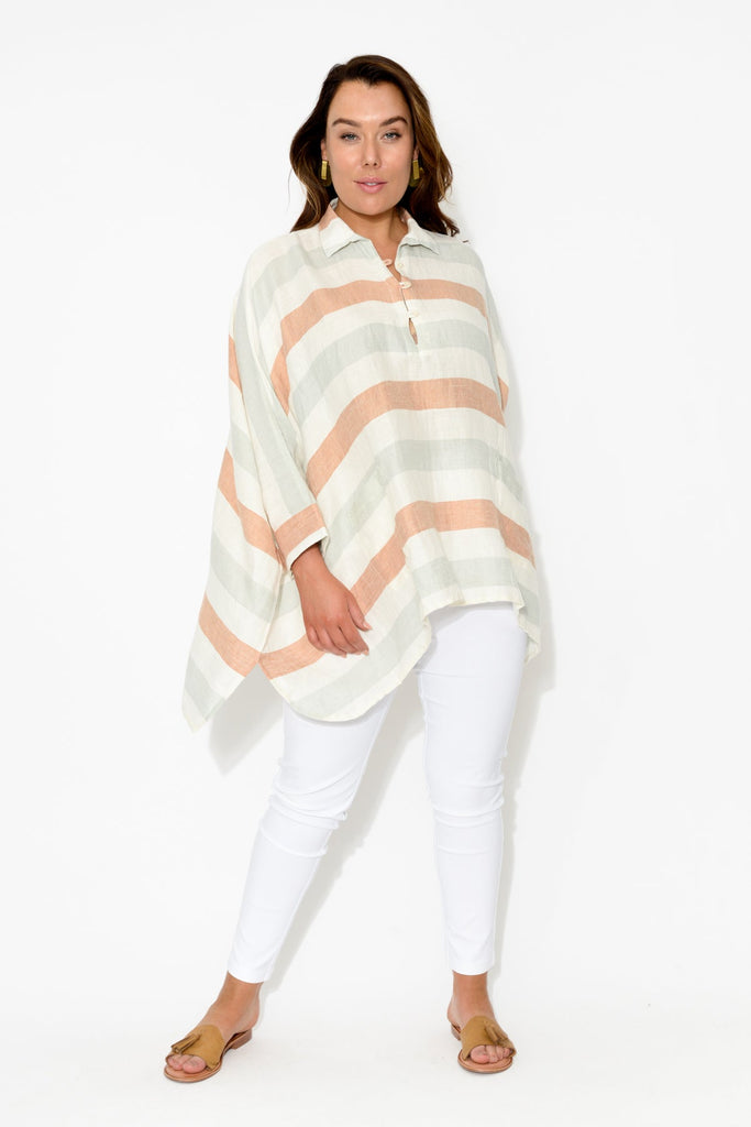 Frankie Stripe Pocket Top