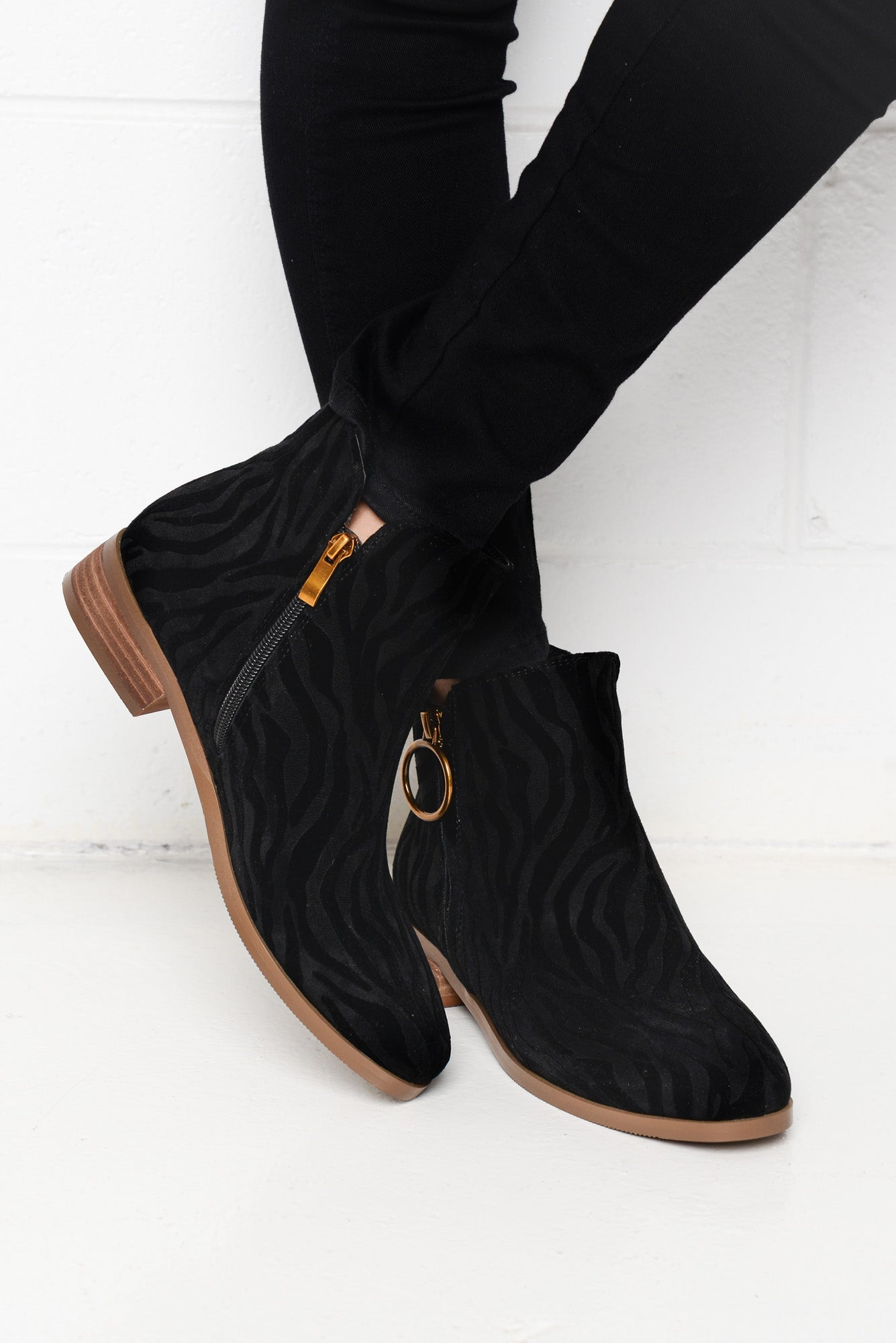 Fuel Black Tiger Boot