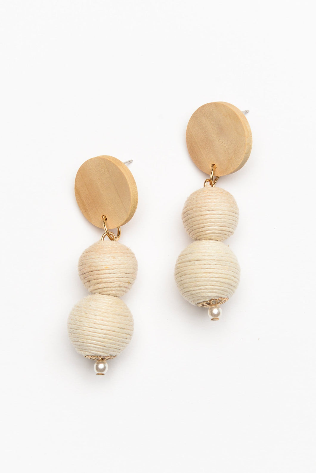 Gianna Natural Earring