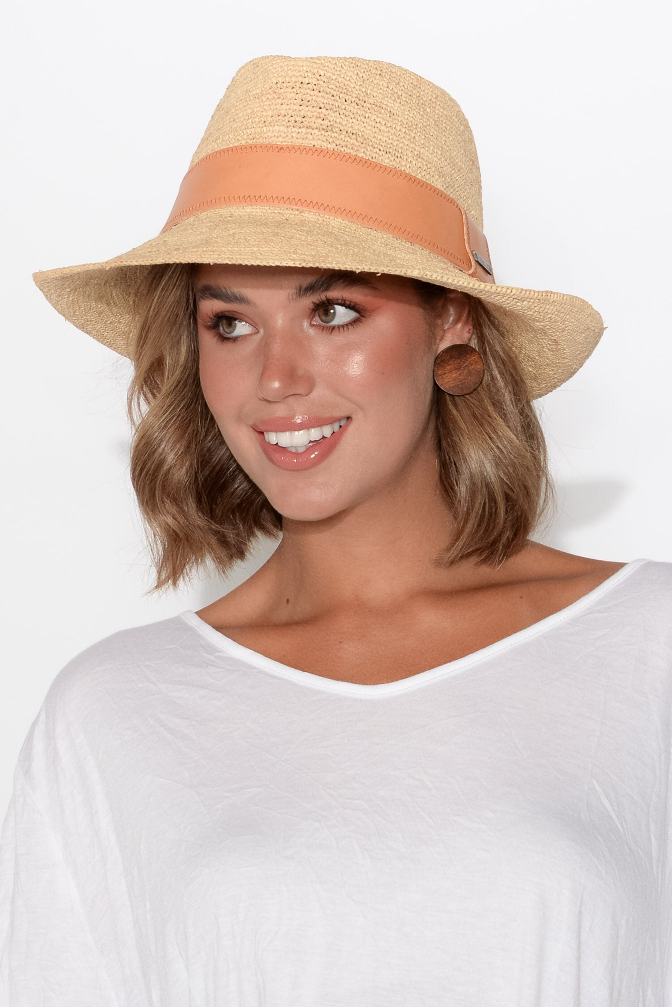 Harper Natural Travel Fedora
