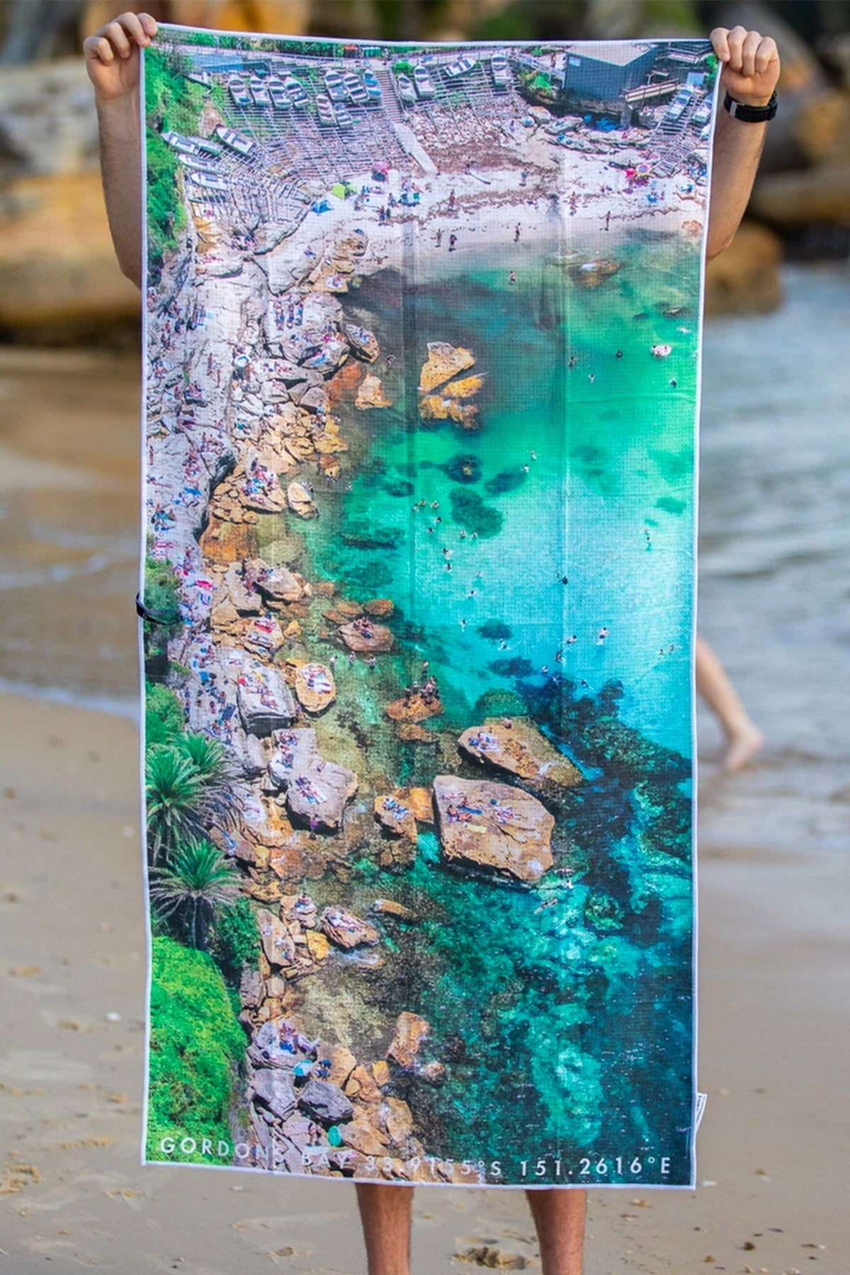 Hot Rocks Sand Free Beach Towel