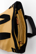 Jamison Mustard Canvas Bag