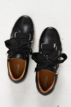 Jovi Black Leather Sneaker