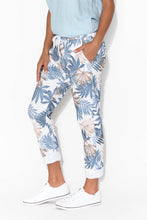 Julie Navy Fern Front Tie Pant