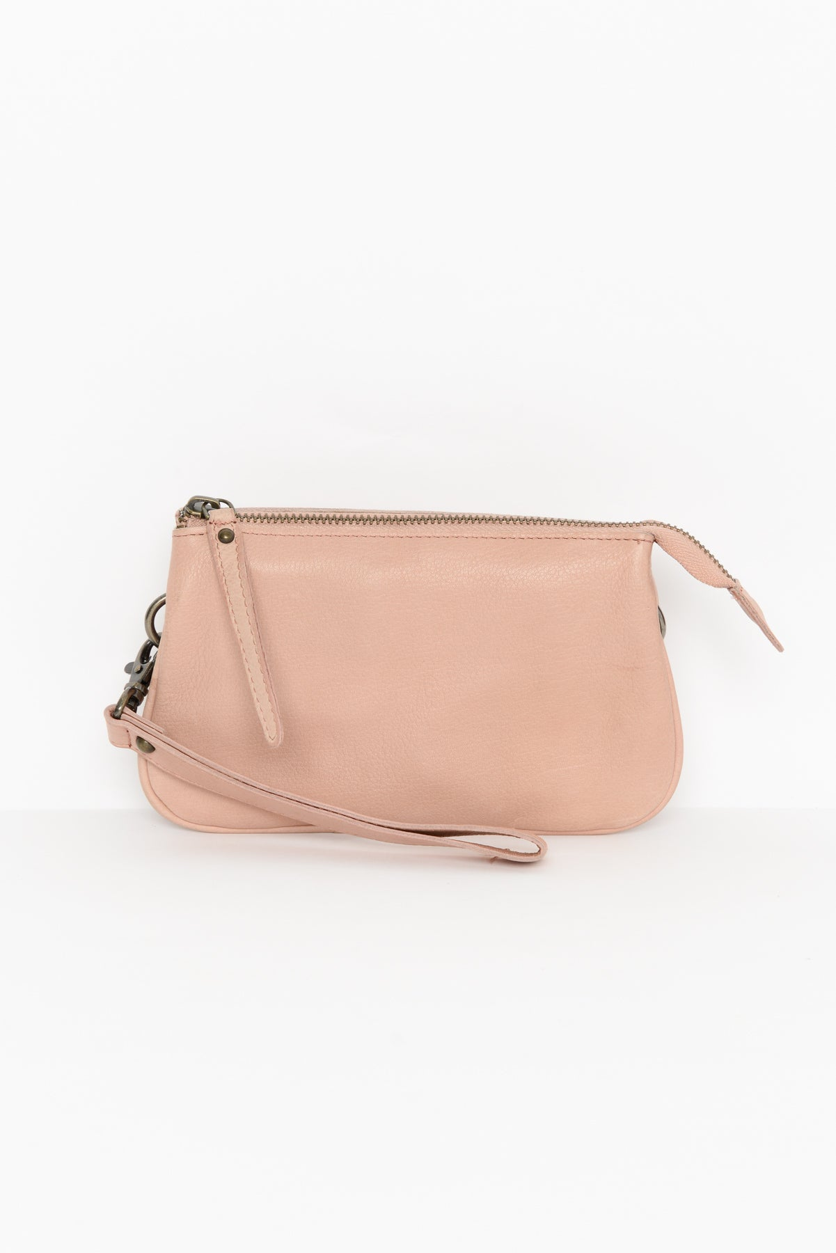 Kilda Blush Leather Sling Bag