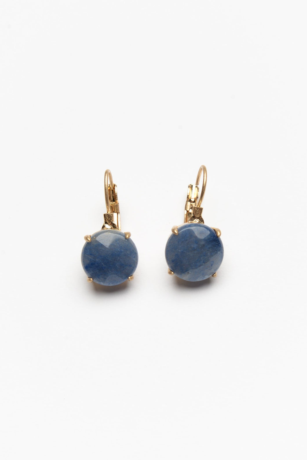 Lorelai Blue Stone Drop Earring