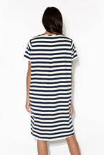 Mandy Stripe Tee Dress