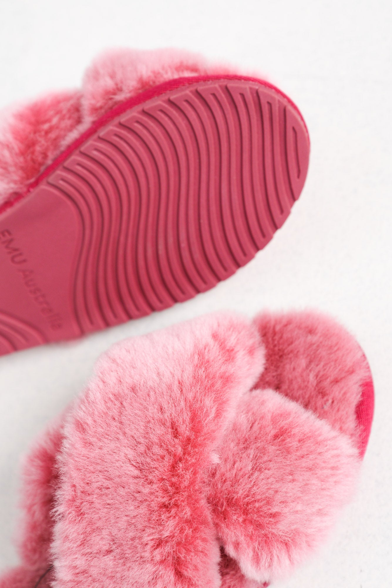 Mayberry Frost Pink Wool Slide
