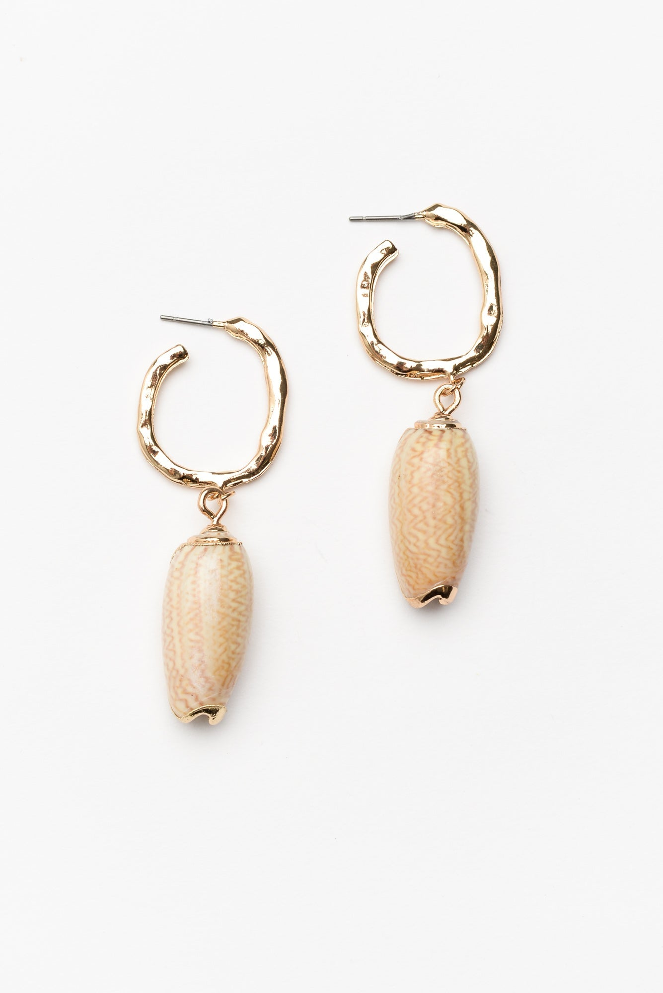 Natural Seychelles Earring