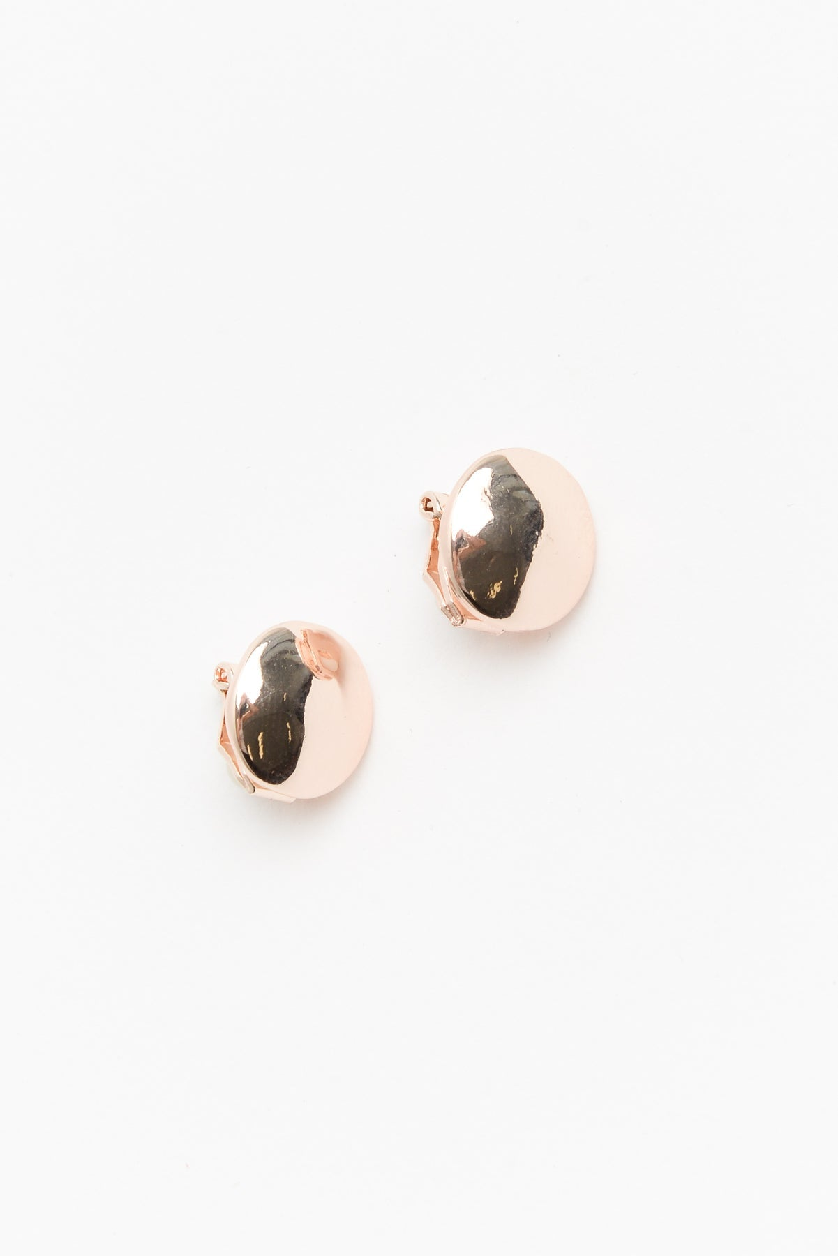 Samantha Rose Gold Clip On Earring