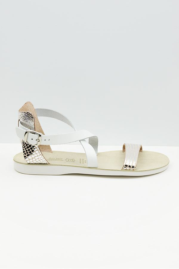 Silver Lizard Billy Sandal - Blue Bungalow