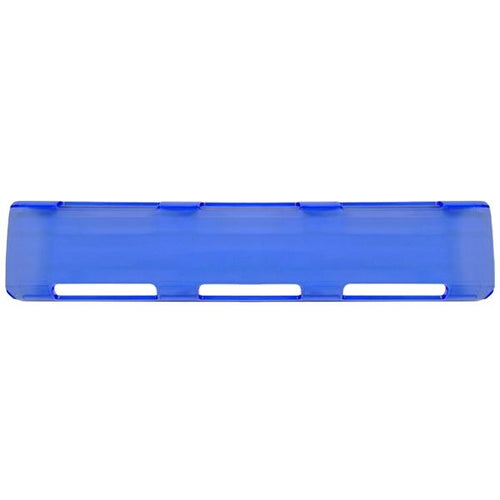 "11"" Blue Single Row LED Light Bar Cover"