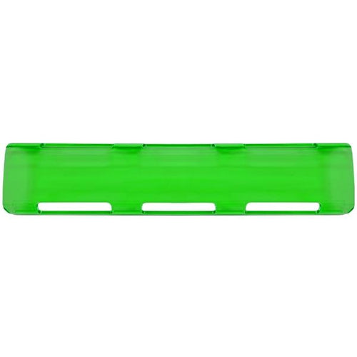 "11"" Green Single Row LED Light Bar Cover"