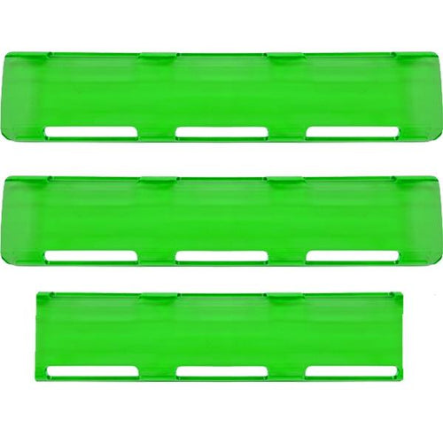 "24"" Green Single Row LED Light Bar Cover Pack"