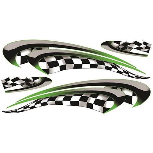 Madjax Club Car Precedent Green Race Custom Body Graphic Set