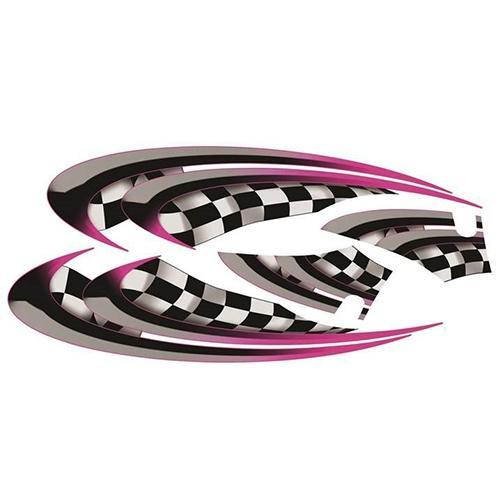 Madjax E-Z-GO TXT Pink Race Custom Body Graphic Set