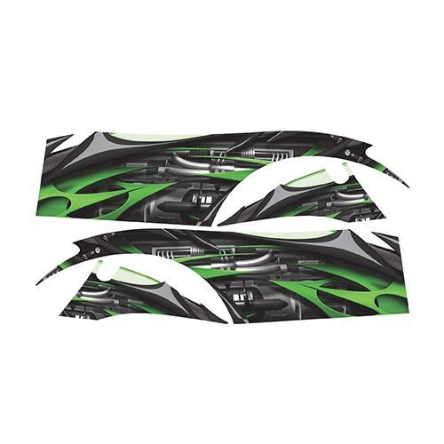 Madjax Club Car DS Green Jet Custom Body Graphic Set