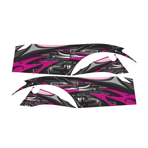 Madjax Club Car DS Pink Jet Custom Body Graphic Set
