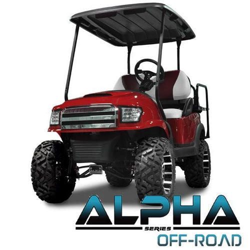 Club Car Precedent ALPHA Off-Road Front Cowl Kit in Red (Fits 2004-Up)