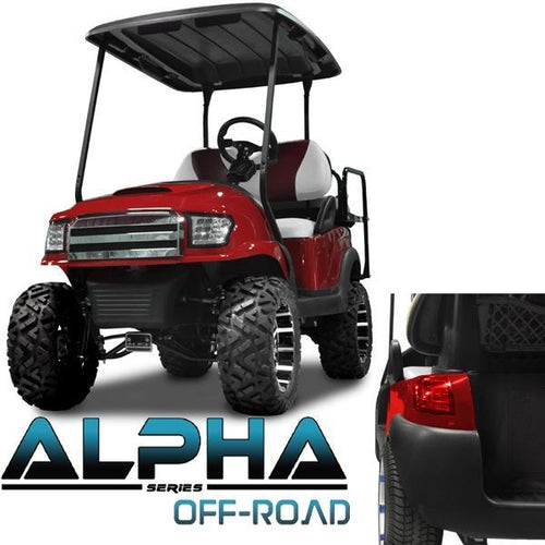 Club Car Precedent ALPHA Off-Road Body Kit in Red (Fits 2004-Up)