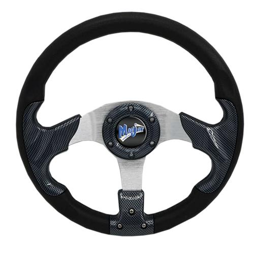 "Madjax 13"" Carbon Razor Steering Wheel"