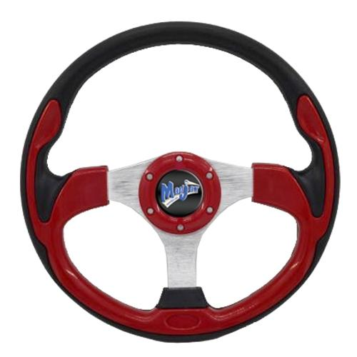 "Madjax 13"" Red Ultra Steering Wheel"