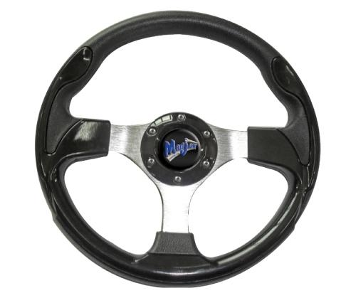"Madjax 13"" Black Ultra Steering Wheel"
