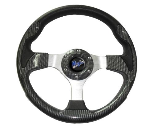 "Madjax 13"" Carbon Fiber Ultra Steering Wheel"