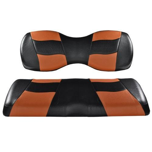 Madjax Deluxe Riptide Black/Moroccan Two-Tone Genesis 250/300 Seat Cushions