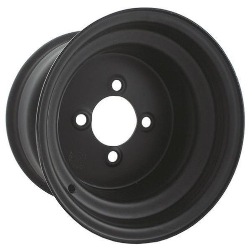 10x7 Black Steel Wheel (3:4 Offset)