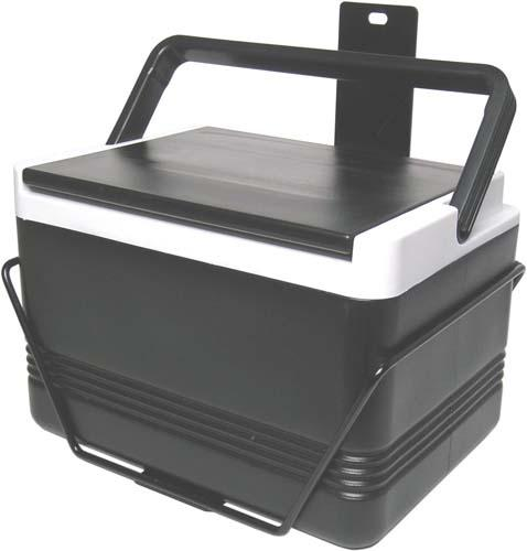 12 QT. BLACK COOLER & BRACKET