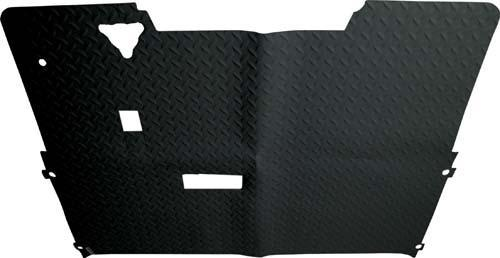 FLOOR MAT*EZ/DIAMOND PLATE/BLK