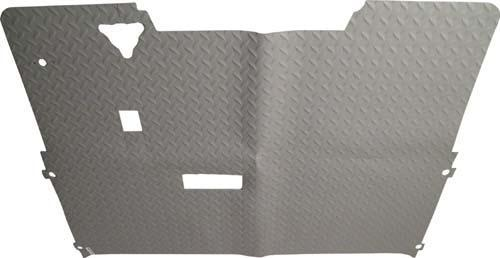FLOOR MAT*EZ/DIAMOND PLATE/GRY
