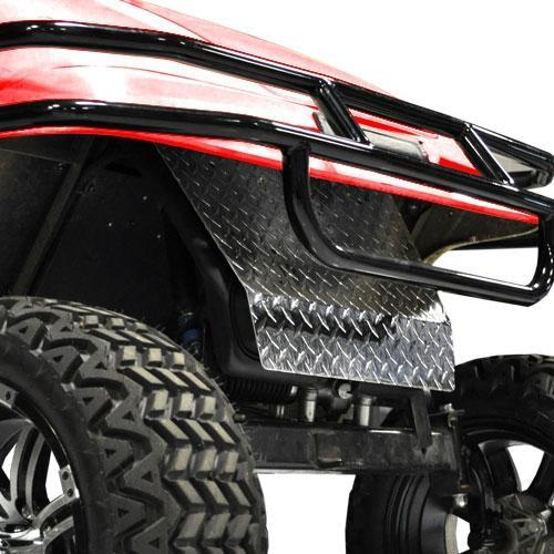 Madjax Diamond Plate EZGO TXT Shock Cover