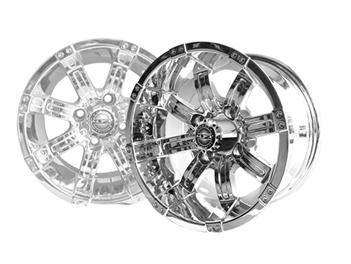 14x7 MJFX Chrome Octane Wheel