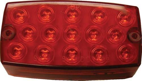 TAIL LIGHT LED MEDAL/TXT