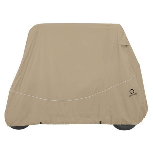 Classic Accessories Storage Cover for 4-Passenger Carts with short tops (Universal Fit)